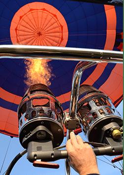 notre montgolfière Vol en Ballon